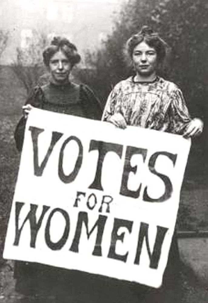 Things I learned about...Women's suffrage
